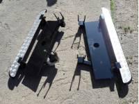 Подножки Хантер силовые с креплением к раме  под  HI-JACK с защитой бензобаков