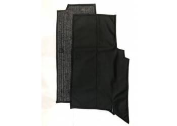 Коврики под сиденье УАЗ 452 (2 предмет) (винил/кожа, поролон, ватин)